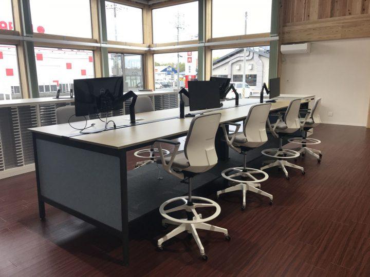 新築 コミュニケーション活性化できるオフィス